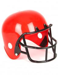 Rød hjelm til amerikansk fodboldspiller børn