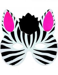 Zebramaske til børn