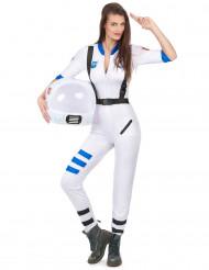 Astronautkostume til kvinder