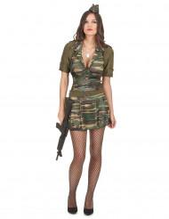 Militær uniform til kvinder