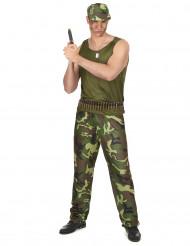 Militærkostume Mand