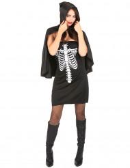 Halloween skeletudklædning til kvinder