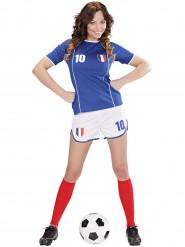 Kostume fodboldspiller Frankrig kvinde