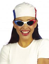 Stort lommetørklæde til Frankrig-supporter