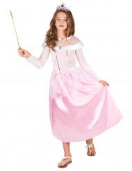 Magisk lyserød prinsessekjole til piger