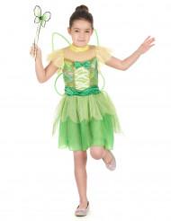 Grønt fe-kostume piger