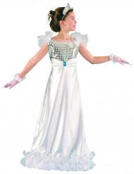 Hvidt prinsessekostume