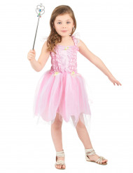 Lyserødt feprinsesse-kostume piger