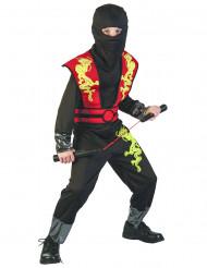 Ildens drage - Ninjakostume til børn