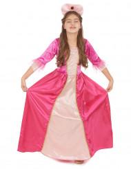 Pink og lyserød prinsessekjole til piger