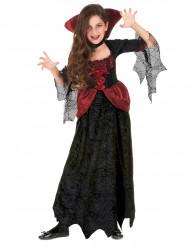 Uhyggelig Halloween vampyrudklædning til piger