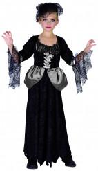Den sorte enke kostume til piger