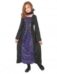 Kostume vampyr violet til piger