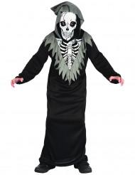 Kostume skelet manden med leen til drenge