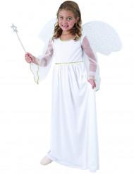 Kostume engel hvid til piger