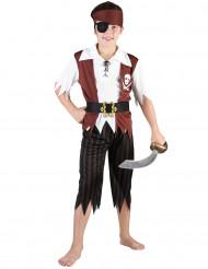 Mr. Skull - Piratkostume til drenge