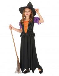 Klassisk heksekostume til piger