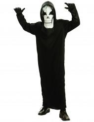 Uhyggeligt skelet - udklædning til børn