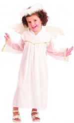 Kostume engel hvidt til piger