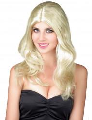 Blond paryk kvinde