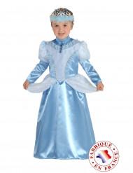 Kostume blå prinsesse til piger