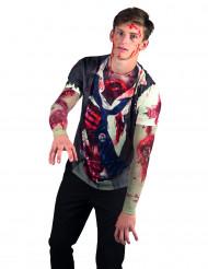 Zombie t-skjorte voksen Halloween