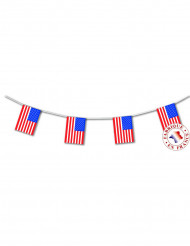 Guirlande USA flag 4 meter
