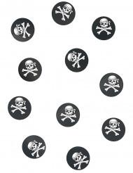 150 bordkonfetti pirat 2,5 cm