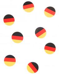 150 bordkonfetti tysk flag