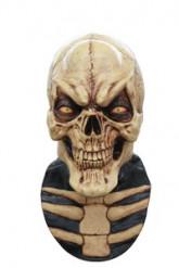 Grinende skelet heldækkende maske voksen