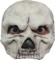 Skelet halvmaske voksen