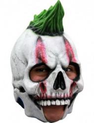 Punker-skelet 3/4-maske voksen