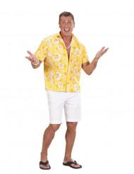 Hawaii skjorte gul - mand