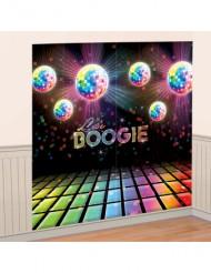 vægdekoration Disco 165 x 165 cm