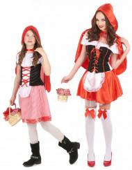 Par kostume rødhætte mor og datter