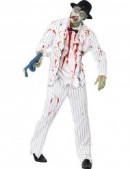 Kostume gangster zombie til mænd