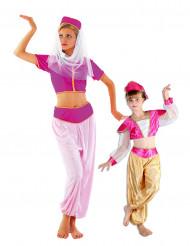 Parkostume orientalske danserinde mor og datter