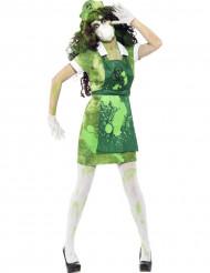 Kostume zombie Halloween