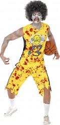 Kostume zombie basketballspiller til mænd Halloween