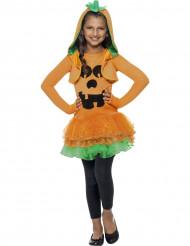 Græskar-kostume med tylskørt Halloween piger