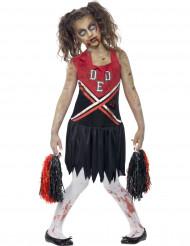 Zombie-cheerleader kostume til piger