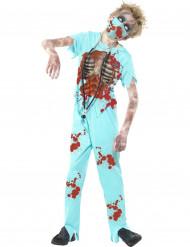 Kostume zombie doktor til børn Halloween