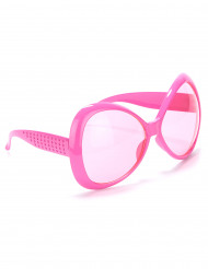 Lyserødedisco briller voksen