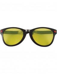 Sorte kæmpebriller voksen