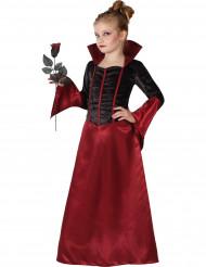 Rødt vampyrkostume til piger