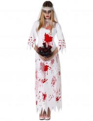 Kostume blodig brud Halloween kvinde