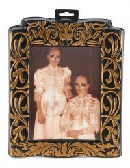 Fotoramme med skeletpiger