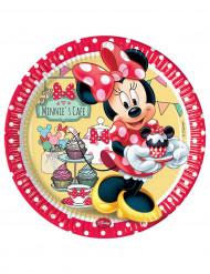 Tallerkener 8 stk Minnie Cafe™