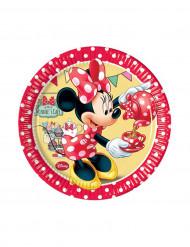 8 Små tallerkener Minnie Café™ 20 cm