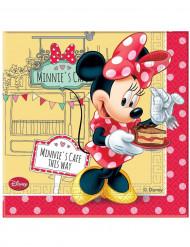 20 Papirservietter - Minnie Café™ 33 x 33